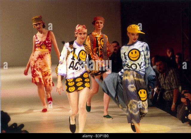 Acid house fashion stock photos acid house fashion stock for House music 1988