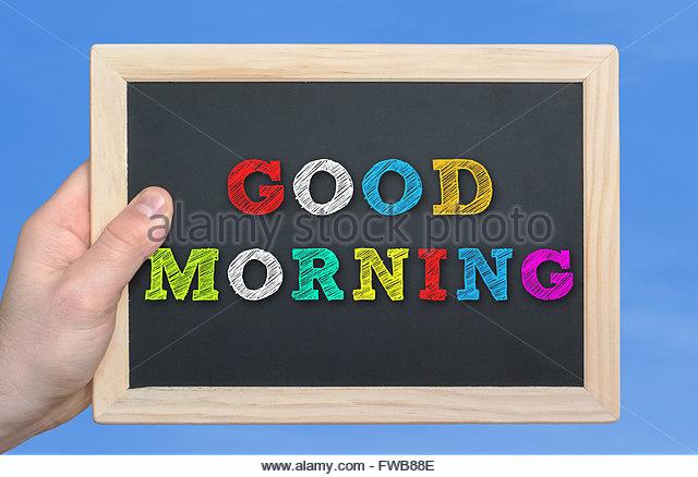 Good Morning Gentlemen In French : Good morning hello stock photos