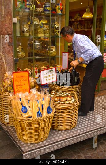 Wine Shop Facade Paris France Stock Photos & Wine Shop Facade ...