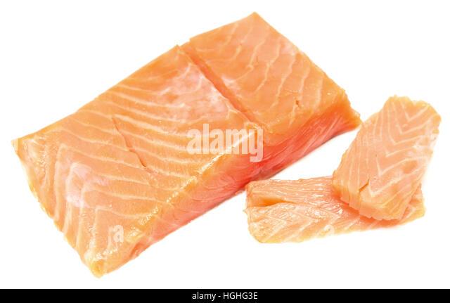 Salmonids stock photos salmonids stock images alamy for Piece of fish