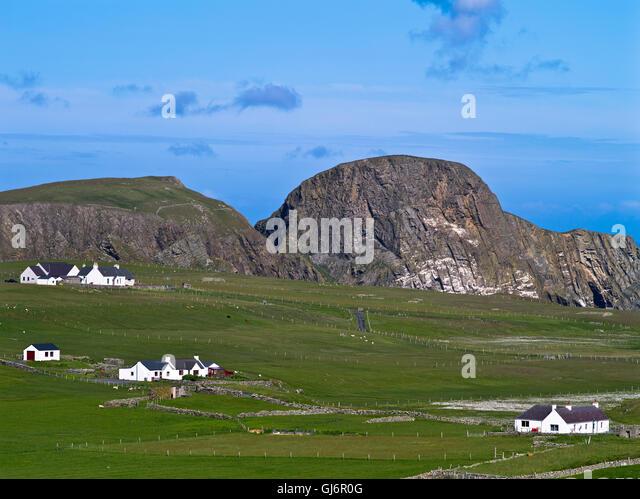 Fair Isle Scotland Village Stock Photos & Fair Isle Scotland ...