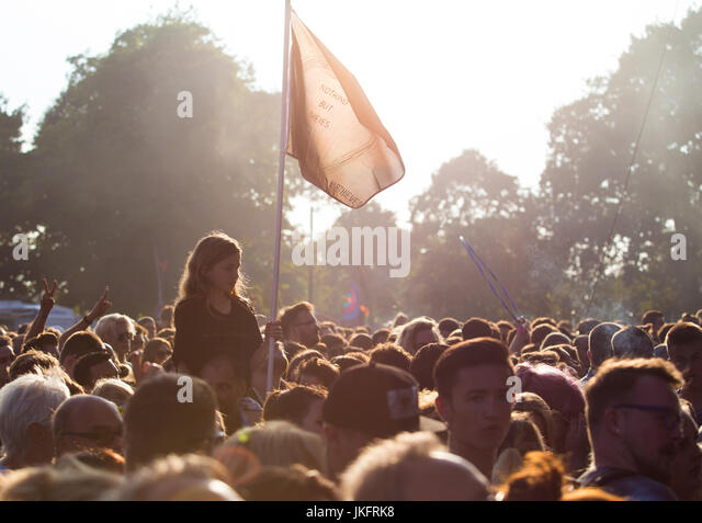 Nothing But Thieves, Village Green Festival, Southend, Essex © Clarissa Debenham / Alamy - Stock Image