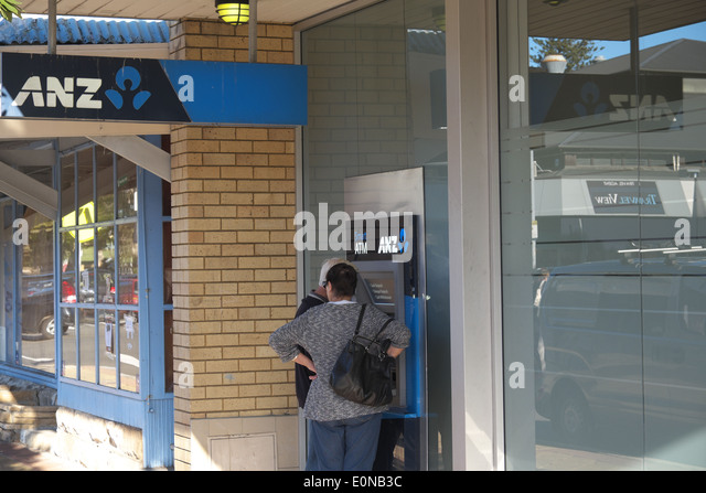 how to use atm anz