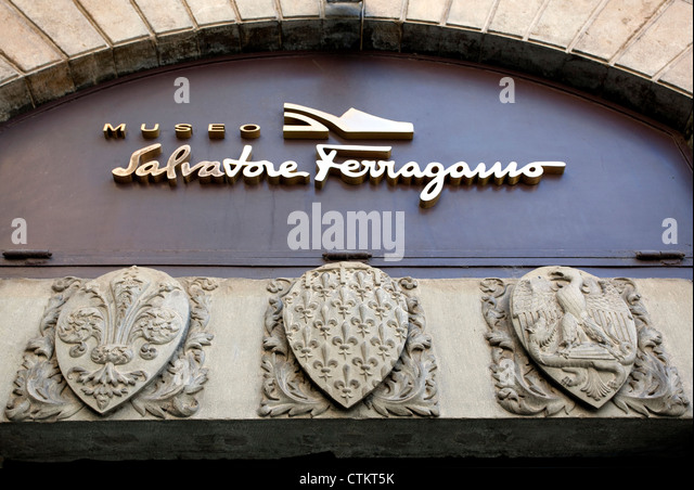 Salvatore Ferragamo Shoes Stock Photos