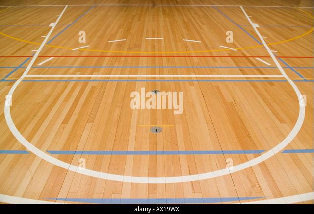 Empty Basketball Court Stock Photos & Empty Basketball Court Stock ...