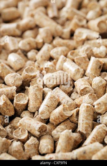 Fuel Wood Pellets ~ Bioenergy stock photos images alamy