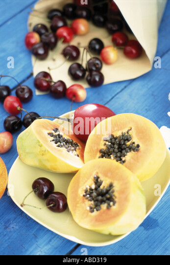 Papayas Stock Photos Amp Papayas Stock Images Alamy