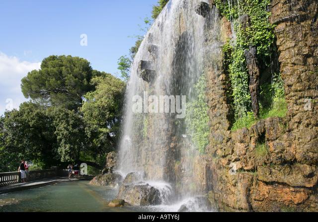 Manmade Waterfalls Stock Photos & Manmade Waterfalls Stock ...