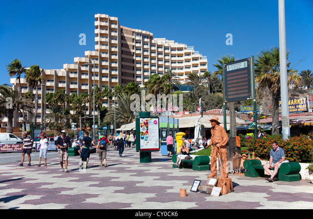 Playa del ingles stock photos playa del ingles stock - Living in gran canaria ...