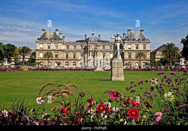 Jardin du luxembourg paris stock photos jardin du for France jardin