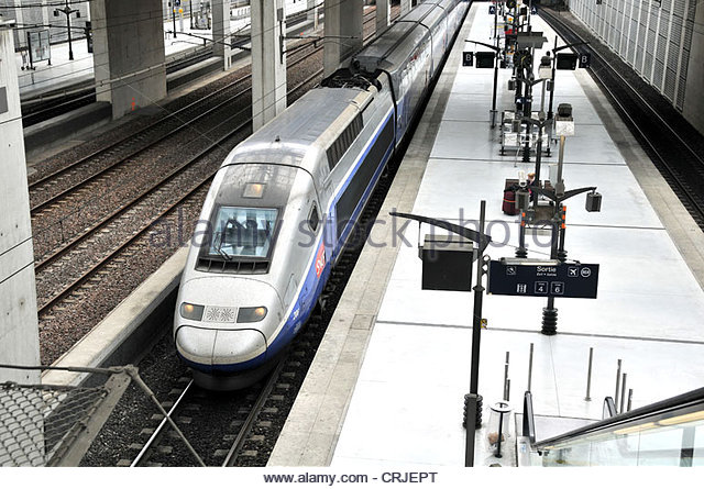 how to get from paris airport to train station