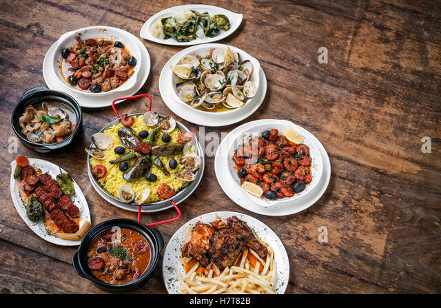 Traditional portuguese food stock photos traditional for Authentic portuguese cuisine