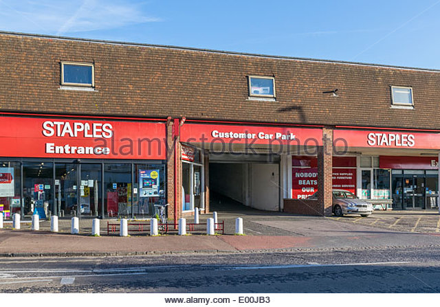 Staples corner stock photos staples corner stock images alamy - Staples corner storage ...