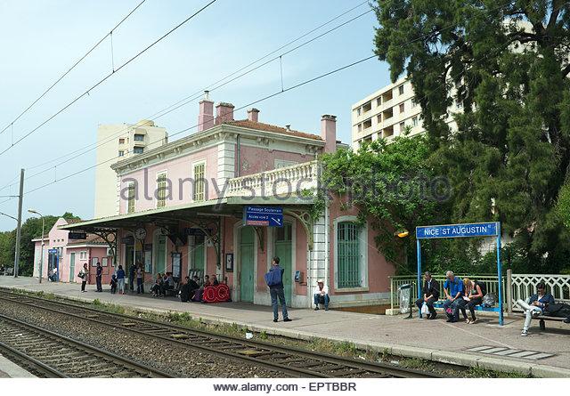 Train Nice St Augustin Nice Ville