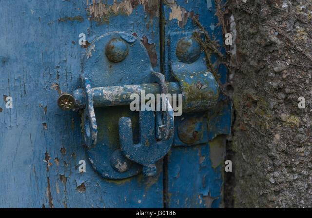 Bolted door lock - metaphor for both \u0027security\u0027 and \u0027secretive\u0027. - & Bolted Door Stock Photos \u0026 Bolted Door Stock Images - Alamy