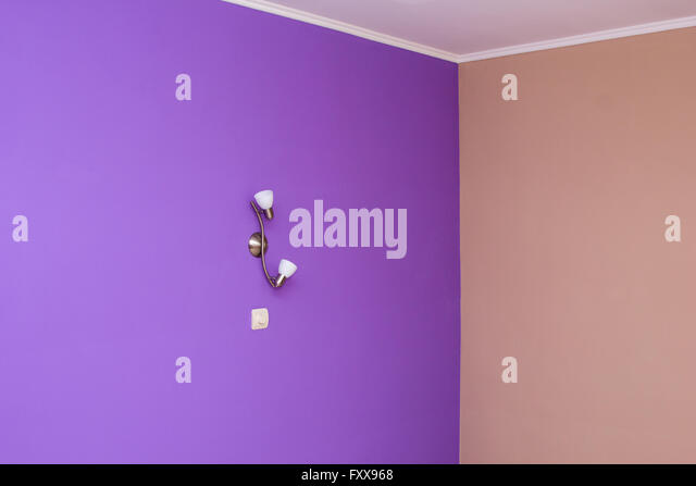 Bright Coloured Wall Lights : Bright Painted Room Stock Photos & Bright Painted Room Stock Images - Alamy