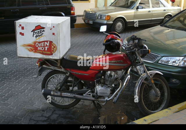 Pizza Delivery Bike Stock Photos & Pizza Delivery Bike ...