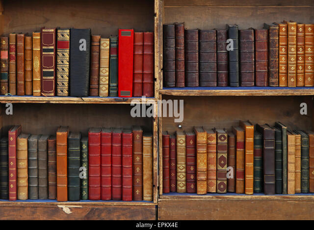Bookcase Old Books Stock Photos Bookcase Old Books Stock Images - Old book case