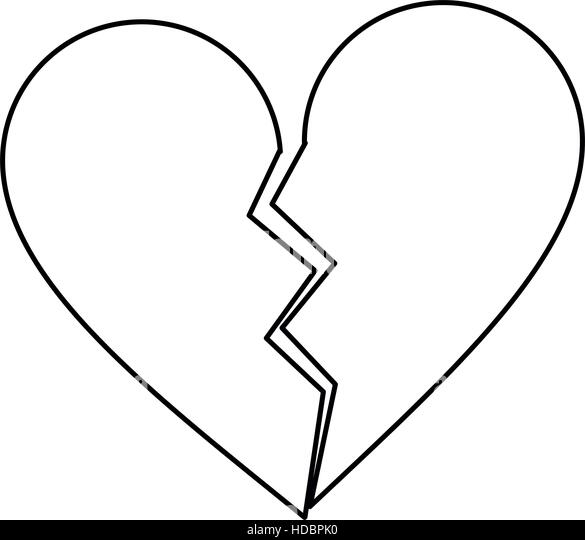 Broken Hearts Coloring Pages  GetColoringPagescom
