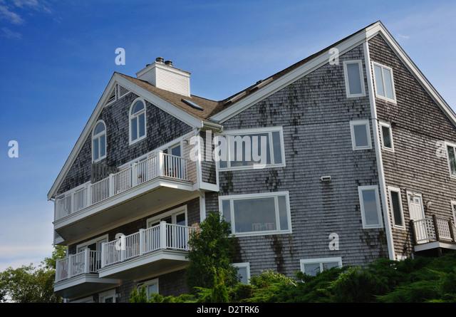 Cape Cod Style Apartment Building Stock Photos Cape Cod