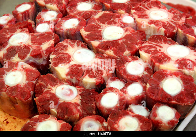 Beef Tail Of Oxtail Stock Image