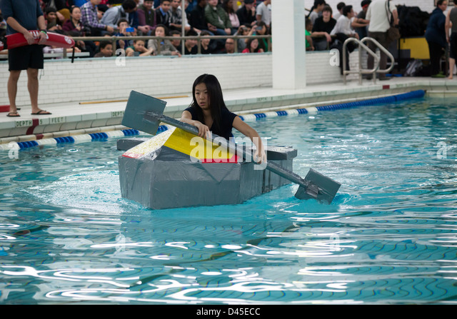 Sinking Paper Boat Stock Photos Sinking Paper Boat Stock