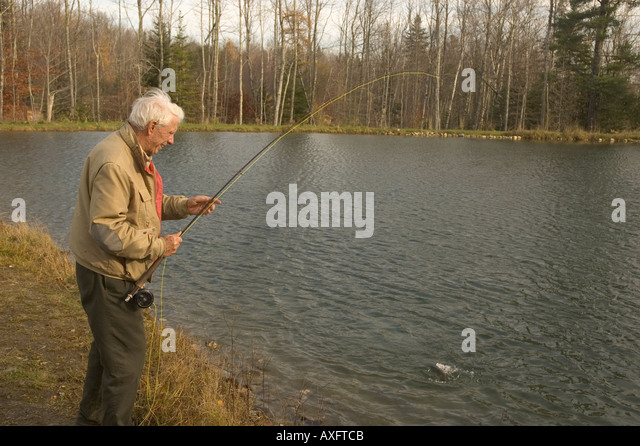 Trout fishing tours stock photos trout fishing tours for Trout fishing ponds near me
