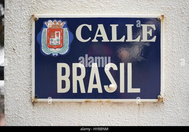 calle brasileira
