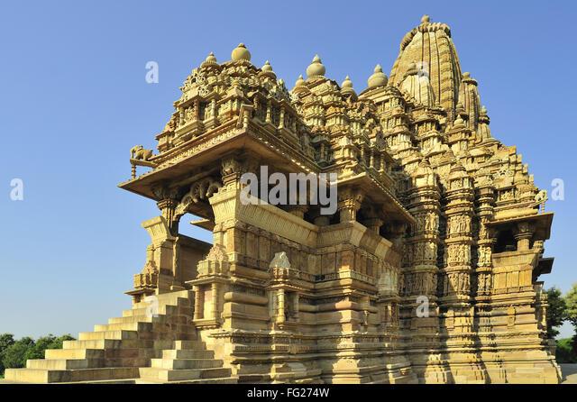 Kandariya mahadeva temple stock photos