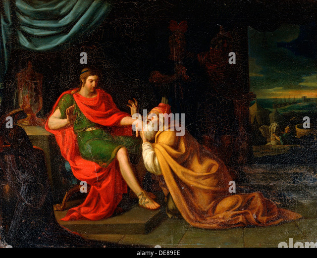 relationship between achilles and priam