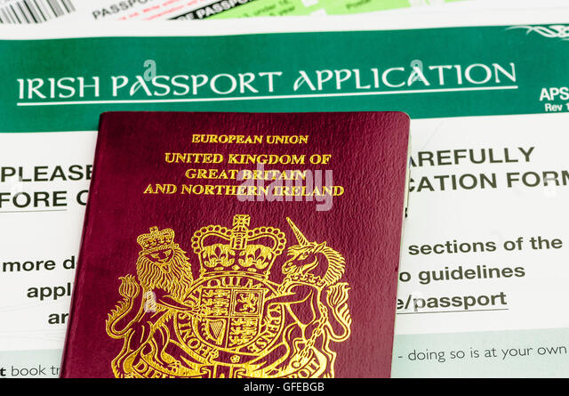 irish passport application form pdf