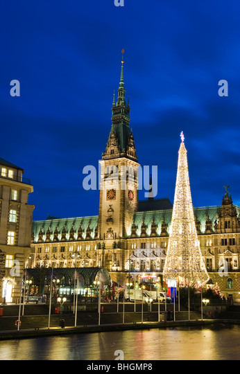 christmas market hamburg stock photos christmas market. Black Bedroom Furniture Sets. Home Design Ideas