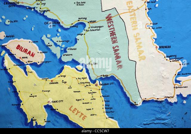Visayas Map Stock Photos  Visayas Map Stock Images  Alamy