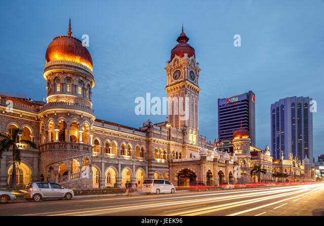 The Sultan Abdul Samad Building, Kuala Lumpur, Malaysia. - Stock Image