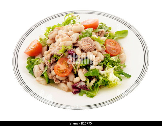 Bean Salad Tuna Stock Photos & Bean Salad Tuna Stock ...