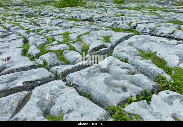 Limestone pavement rock stone stock photos limestone for Limestone landscape rock