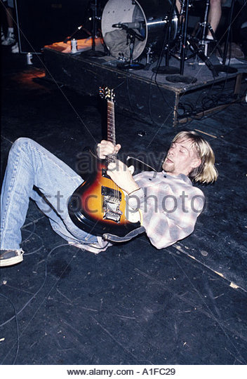 a report on the death of kurt cobain the leader of nirvana a grunge band Cobain was the front-man for nirvana, a 90's grunge band hailed as the kurt cobains death the ruling of death was completely right: kurt cobain had.