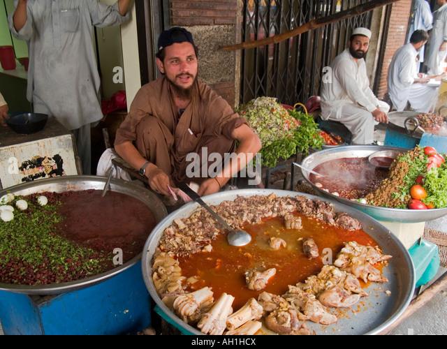 Afghan food vendor stock photos afghan food vendor stock for Afghanistan cuisine food