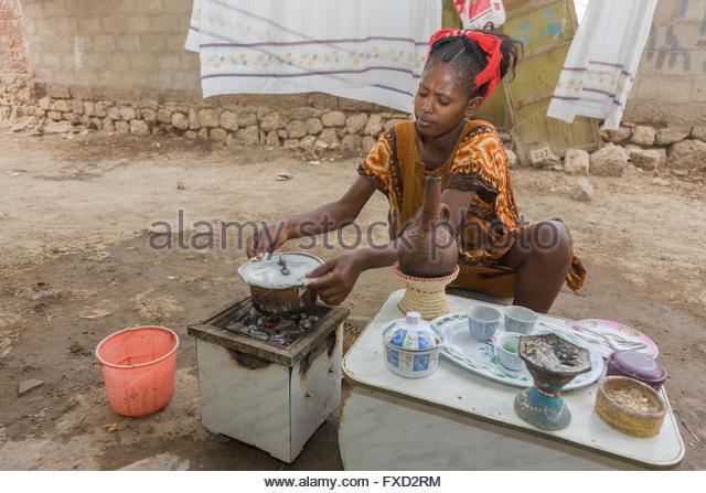 eritrea woman coffee stock photos & eritrea woman coffee stock