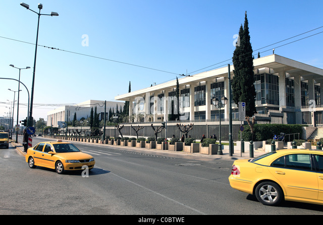 American Embassy In Athens Stock Photos American Embassy In - Us embassy athens map