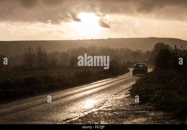 Hail On Road Stock Photos & Hail On Road Stock Images - Alamy