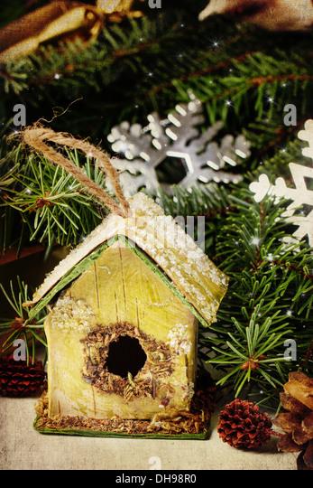 Christmas Decoration Nesting Box Christmas Stock Photos ...