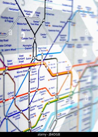 london england uk november 04 2007 tube map of the london