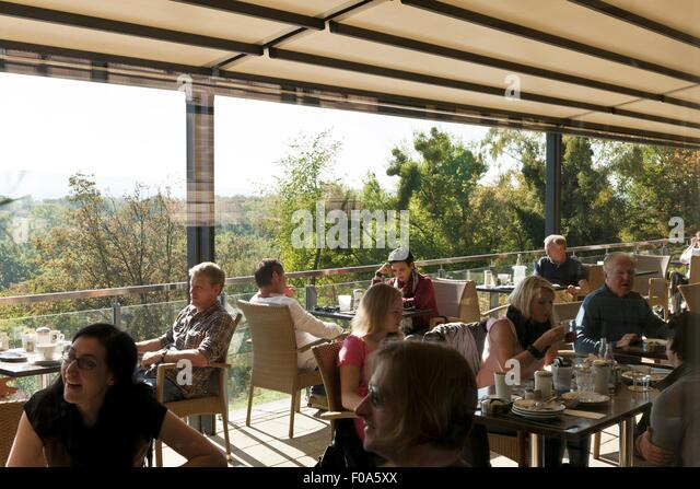 bar caf restaurant terrace guests stock photos bar caf restaurant terrace guests stock. Black Bedroom Furniture Sets. Home Design Ideas