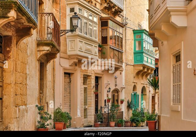 malta old alley houses - photo #11