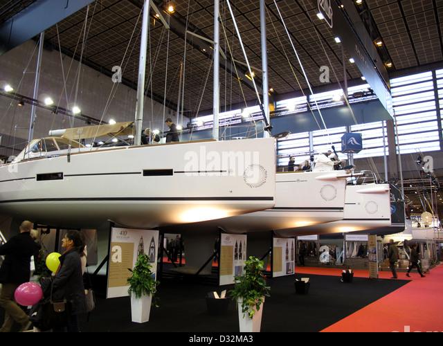 Beneteau boat stock photos beneteau boat stock images - Salon nautique international de paris ...
