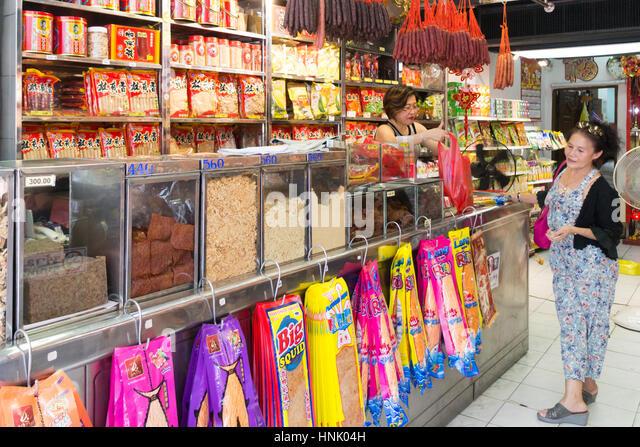 Chinatown Shop Bangkok Stock Photos