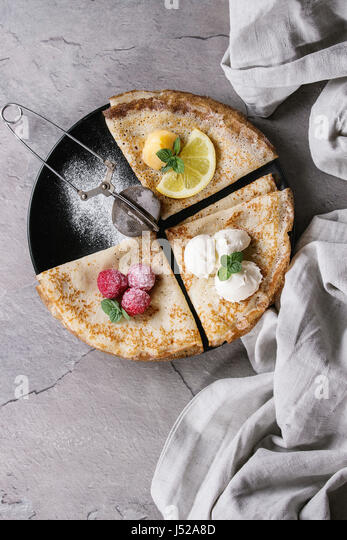 Crepes Above Stock Photos & Crepes Above Stock Images - Alamy