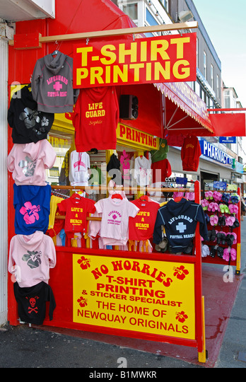 Street clothing vendor stock photos street clothing for T shirt printing downtown los angeles