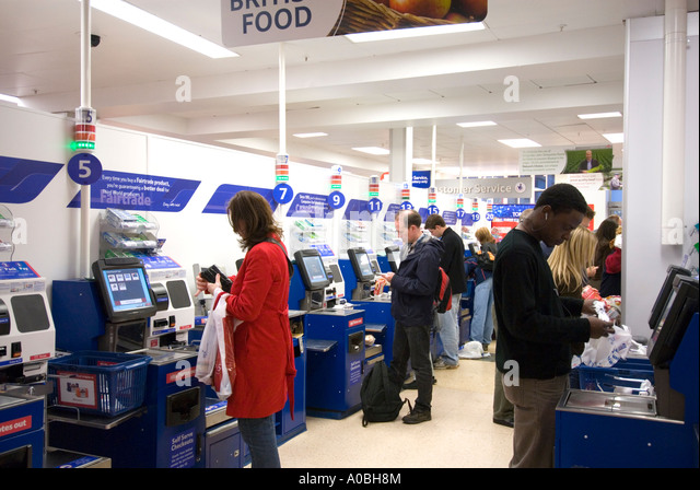 Self Checkout Stock Photos & Self Checkout Stock Images - Alamy